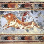 Taurokathapsia en la Creta Minoica